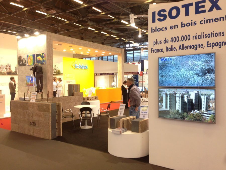 Salon batimat 2015 paris nord villepinte isotex blocs - Salon villepinte 2015 ...